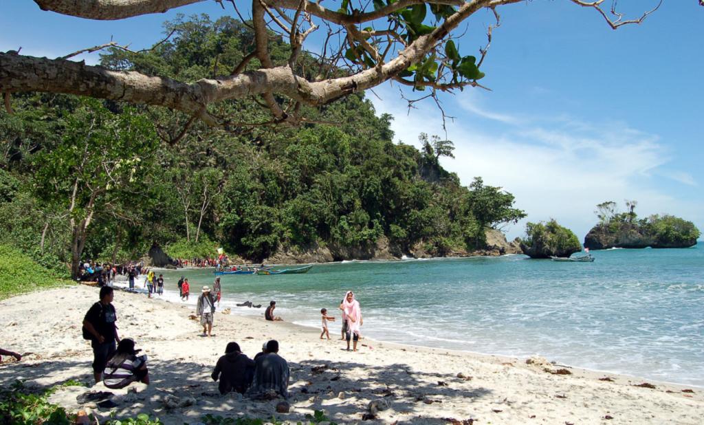 Tempat Wisata Pantai Sodong Cilacap Jawa Tengah Terbaik Indonesia Kab