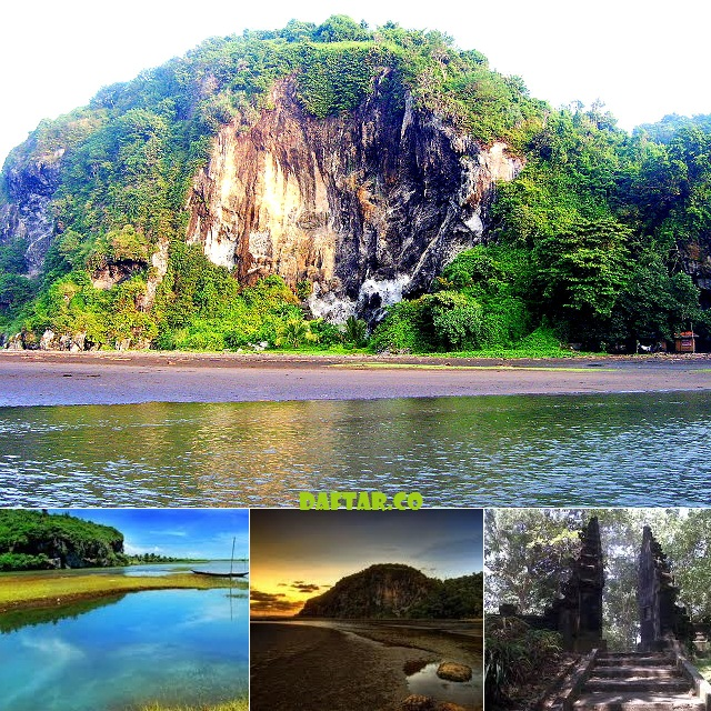 Wisata Gunung Selok Cilacap Daftar Pantai Sodong Kab