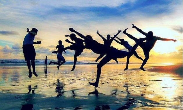 10 Foto Pantai Widara Payung Cilacap Jawa Tengah Rute Jalan