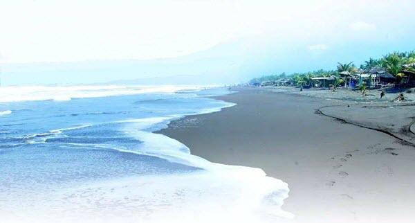 Keindahan Pantai Widarapayung Widara Payung Kab Cilacap