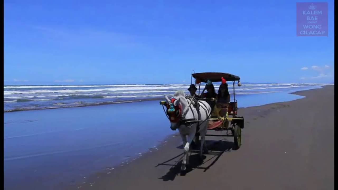Pesona Wisata Cilacap Pantai Widarapayung Youtube Kab