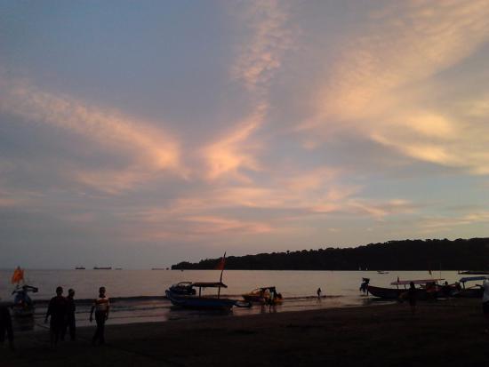 Senja Pantai Teluk Penyu Cilacap Picture Beach Kab