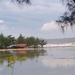 Tanggul Teluk Penyu Jebol Pesisir Cilacap Terendam 1 000 Warga