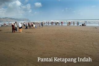 Pantai Ketapang Indah Cilacap Jelajah Waterpark Tirta Mas Kab