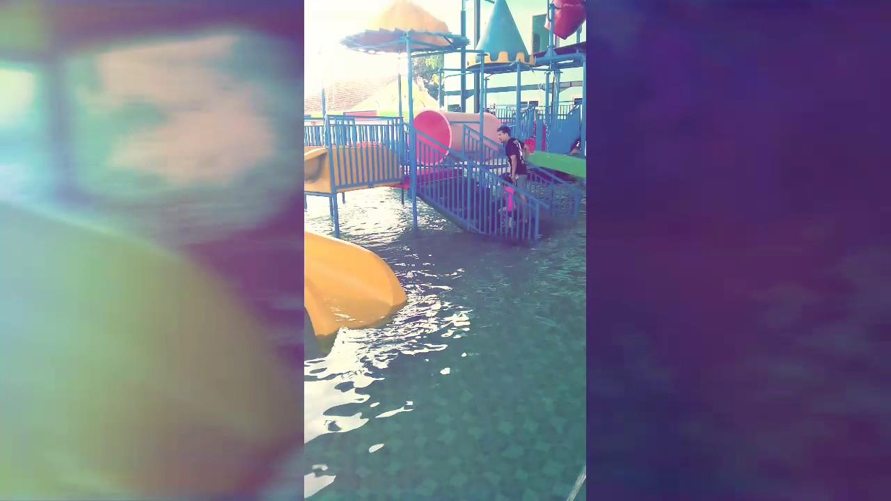 Sentul Water Park Cilacap Youtube Waterpark Tirta Mas Kab