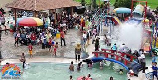 Taman Sarirasa Waterpark Sampang Cilacap Tirta Mas Kab