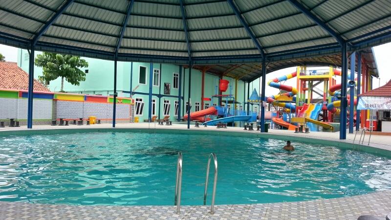 Wisata Water Park Tirta Mas Cilacap Jawa Tengah Harga 1