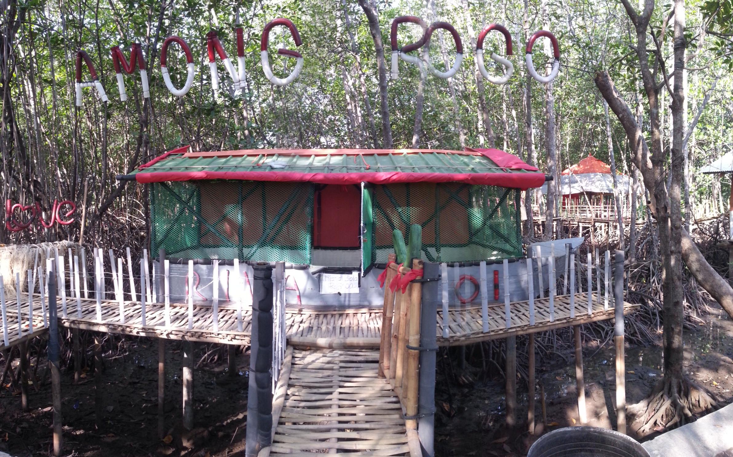 Wisata Hutan Payau Cilacap Samz Beltriverson Image Mangrove Kab