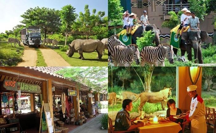 Bali Safari Marine Park Hal Menarik Informasi Kab Gianyar