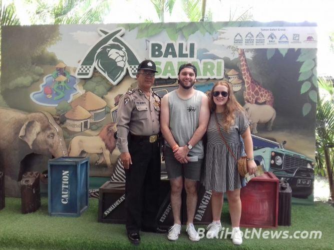 Terkait Hari Buruh Sedunia Bhabinpariwisata Polsek Gianyar Atensi Polda Bali
