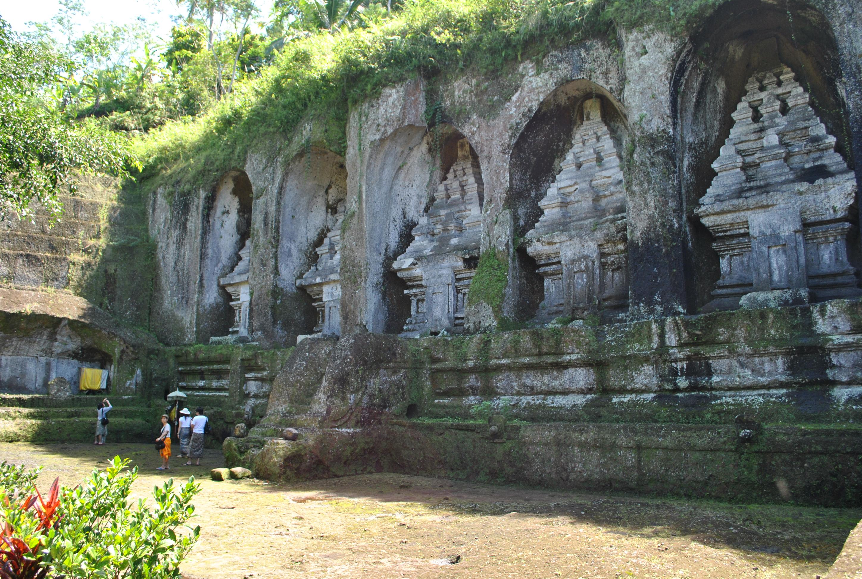 Candi Gunung Kawi Cagar Budaya Kecamatan Tampaksiring Gianyar Bali Kab
