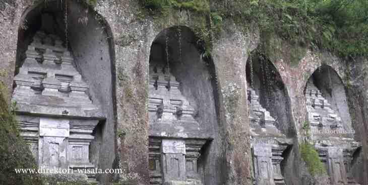 Candi Gunung Kawi Gianyar Bali Direktori Wisata Indonesia Kab