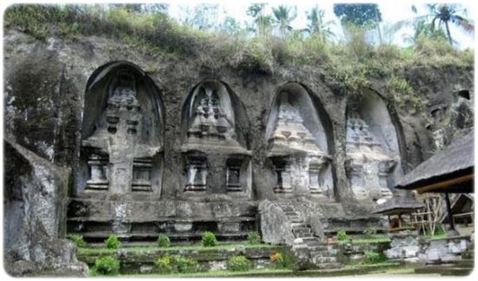 Candi Gunung Kawi Gianyar Bali Kab
