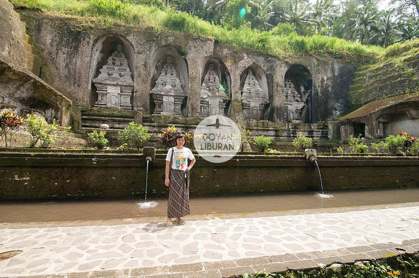 Candi Gunung Kawi Peristirahatan Terakhir Penguasa Bali Lokasinya Berada Sebuah