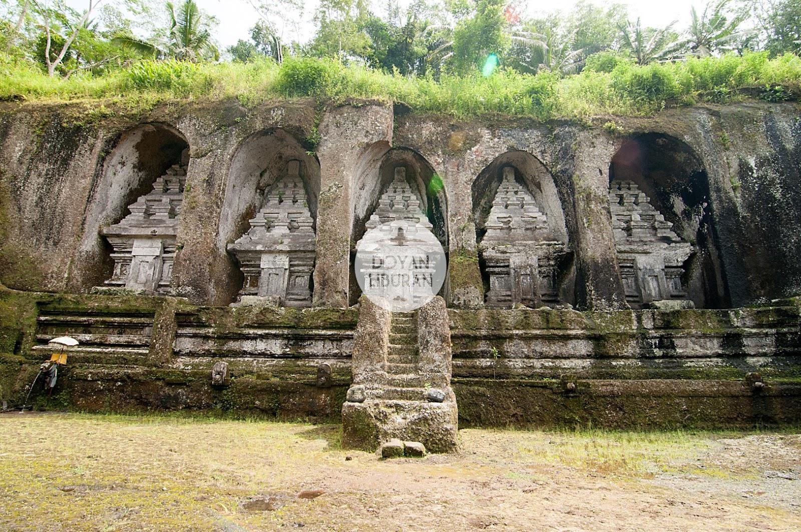 Candi Gunung Kawi Peristirahatan Terakhir Penguasa Bali Nama Tempat Memang