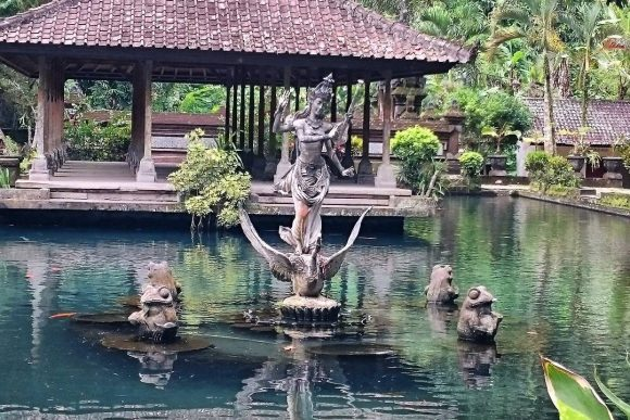 Candi Gunung Kawi Punapi Bali Tebing Situs Purbakala Dilindungi Terletak