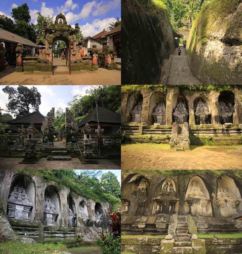 Candi Tebing Gunung Kawi Unik Gianyar Bali Kamera Budaya Suasana