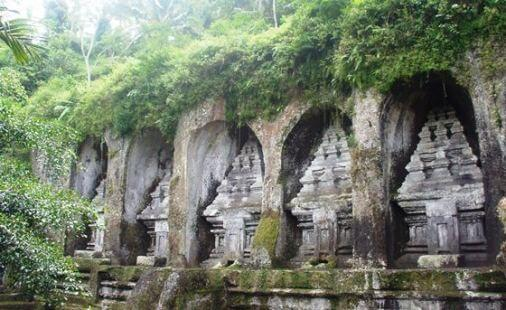 Gunung Kawi Bali Rock Cut Architecture Temple Royal Monument Tampaksiring