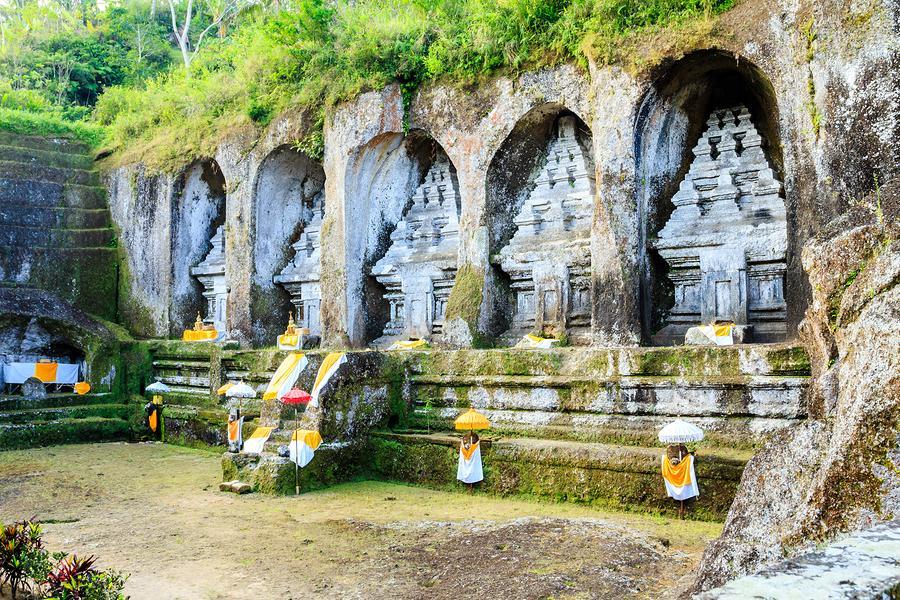 Gunung Kawi Sebatu Temple Bali Photo Gallery Monuments Candi Kab
