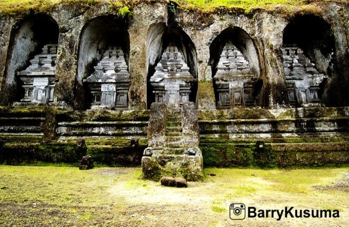 Gunung Kawi Ubud Bali Persemayaman Abadi Raja Dinasti Udayana Kaskus