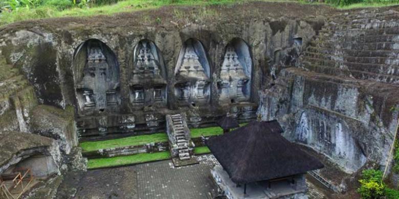 Gunung Kawi Ubud Bali Persemayaman Abadi Raja Udayana Kompas Candi