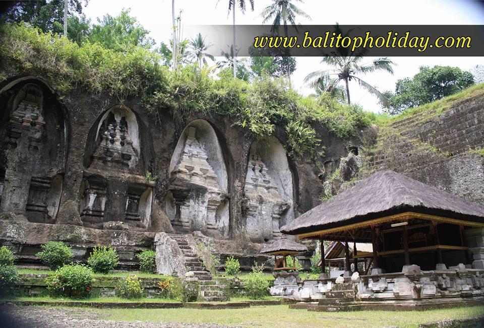 Obyek Wisata Gunung Kawi Tampaksiring Bali Candi Kab Gianyar