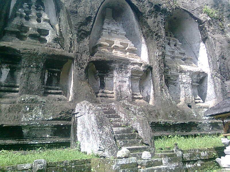 Pariwisata Bali Global Tourism Wisata Gunung Kawi Gianyar Candi Kab