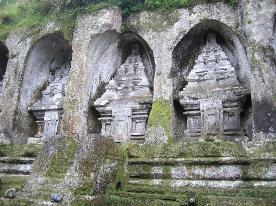 Pesona Candi Gunung Kawi Gianyar Indonesian Heritage Memang Unik Mengesankan
