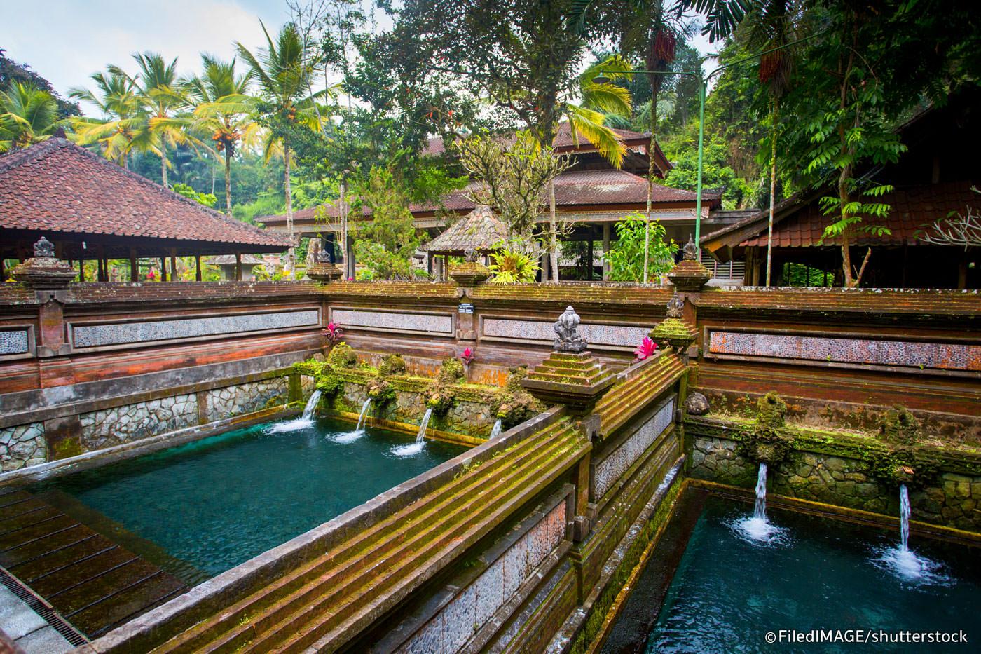 Pura Gunung Kawi Bali Balikami Candi Kab Gianyar