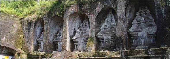 Pura Gunung Kawi Bali Hidden Paradise Island Salah Satu Objek