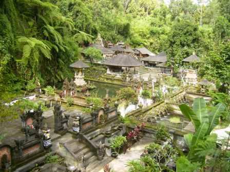 Pura Gunung Kawi Sebatu Bali Terkini Terletak Desa Kecamatan Tegallalang