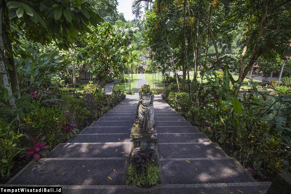 Pura Gunung Kawi Sebatu Indah Ubud Tempatwisatadibali Id Tangga Masuk