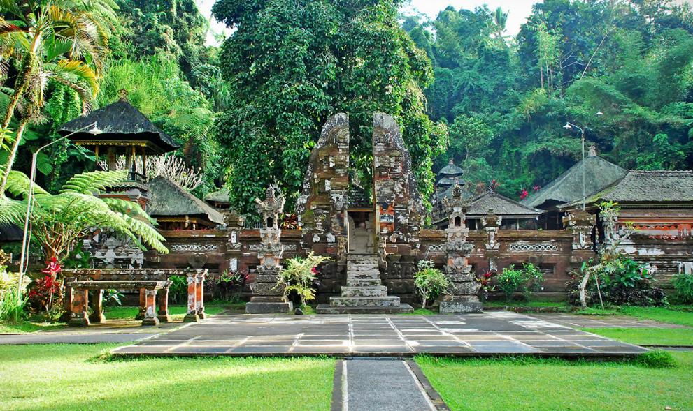 Pura Gunung Kawi Sebatu Wisata Gianyar Bali Berada Kabupaten Gres