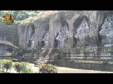 Pura Gunung Kawi Tampaksiring Gianyar Bali Youtube Candi Kab