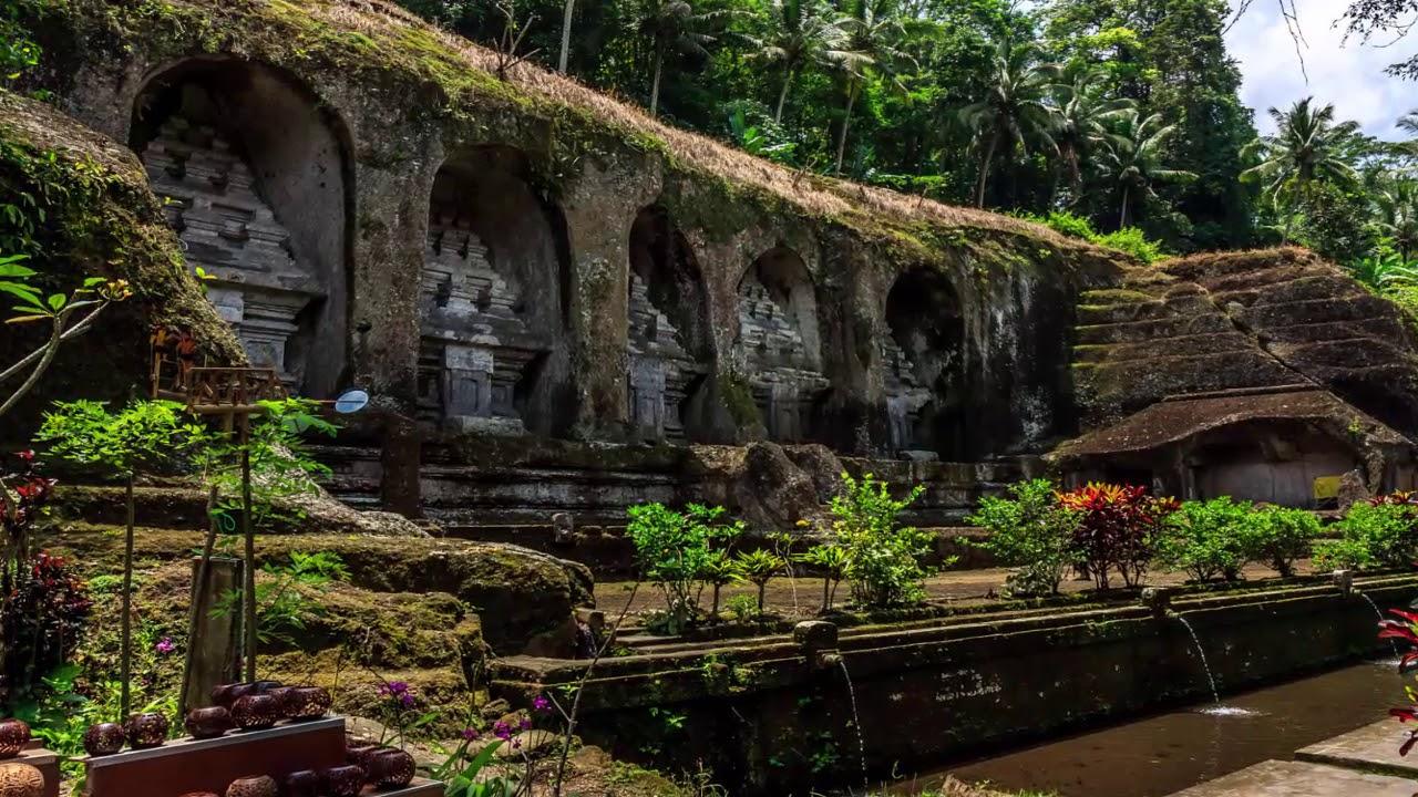 Sejarah Candi Gunung Kawi Tampak Siring Gianyar Bali Youtube Kab