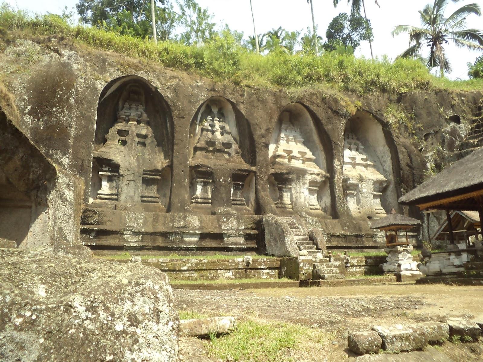 Sejarah Gunung Kawi Tampaksiring Bali Buku Catatan Sekolah Tampksiring Candi