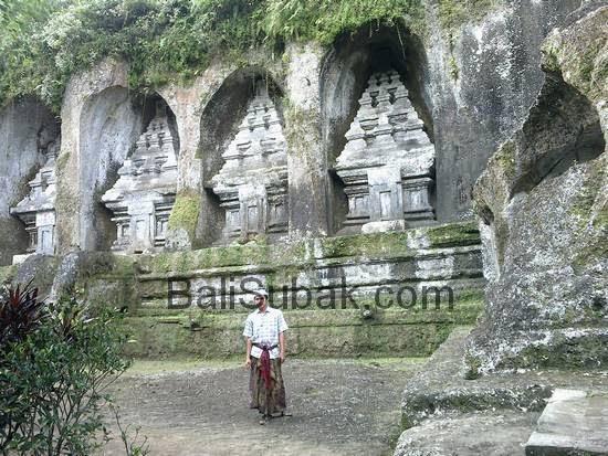 Visits Attractions Candi Gunung Kawi Gianyar Bali Lombok Kab