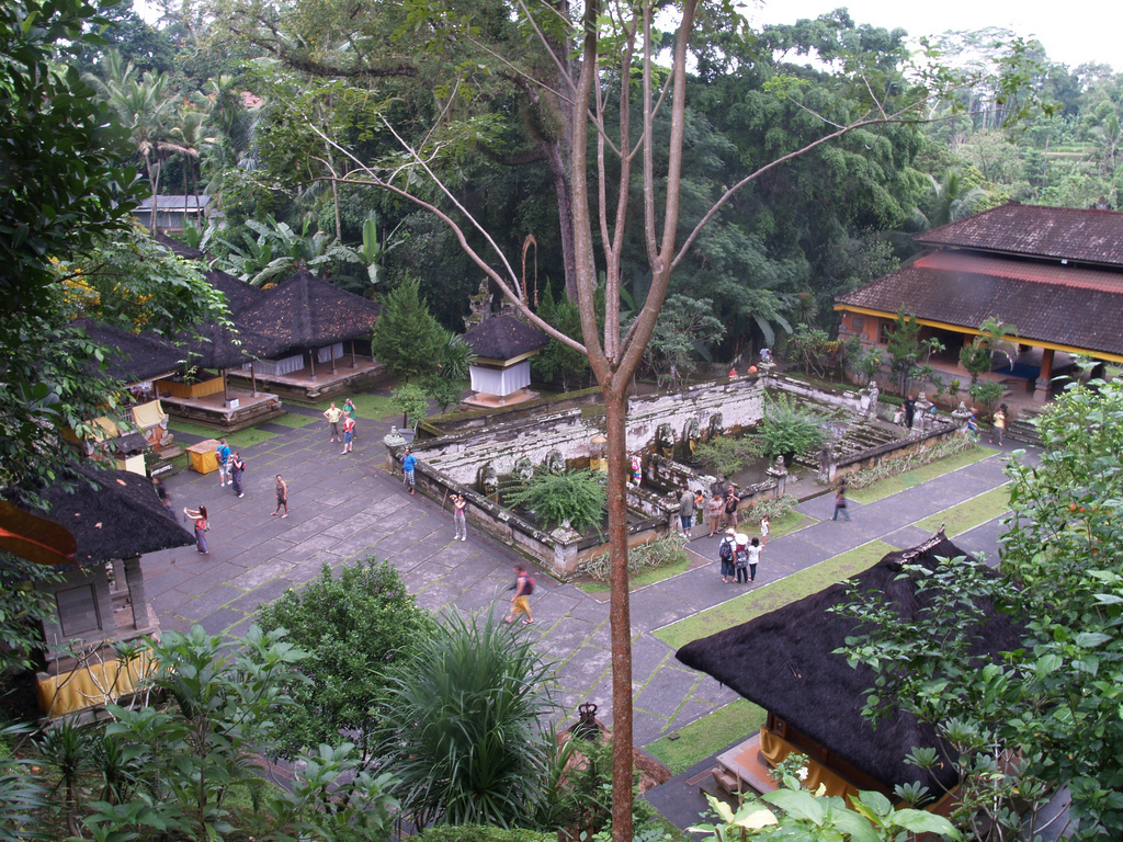 Elephant Cave Goa Gajah Bali Attraction Indonesia Copy Madeleine Holland