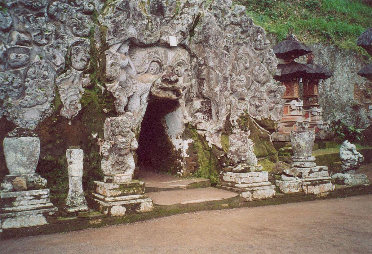 Goa Gajah Wikipedia Kab Gianyar