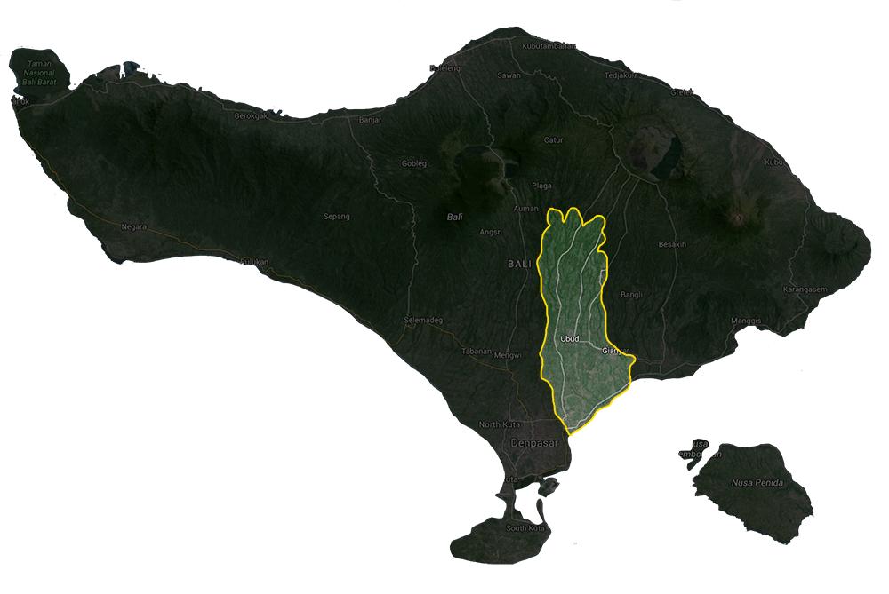 Kabupaten Gianyar Paket Hemat Bali Goa Gajah Gunung Kawi Mas