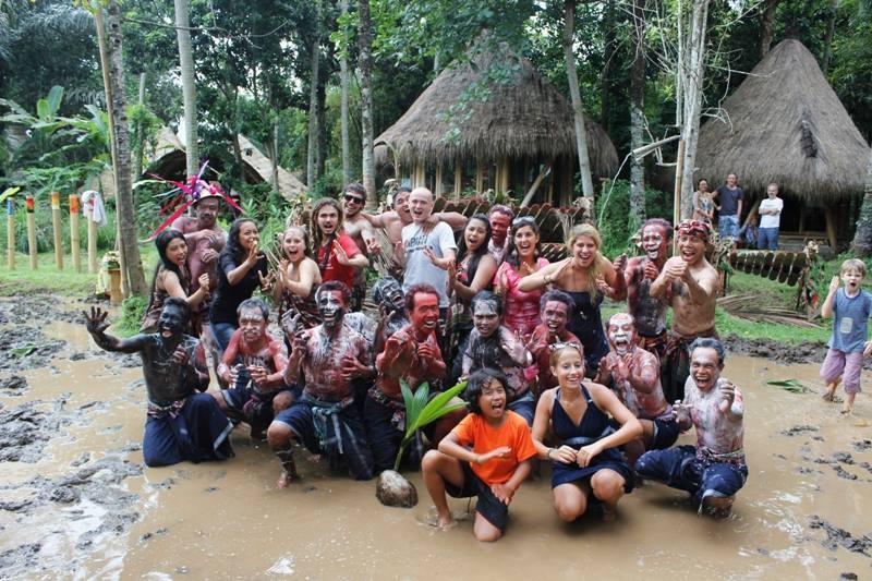 Mepantigan Ubud Bali Attraction Indonesia Justgola Copy Goa Gajah Kab