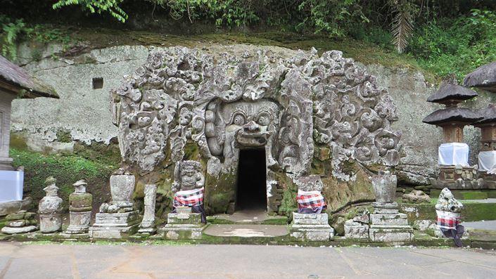 Pura Goa Gajah Badahulu Gianyar Bali Kab