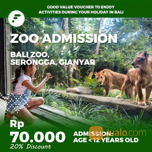 Bali Zoo Admission Kid Voucher Fitaccess Kab Gianyar Jualo Ki