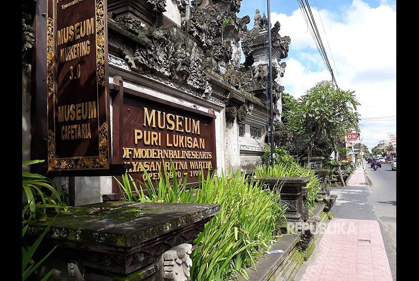 Mengenal Museum Puri Lukisan Ubud Republika Online Gianyar Bali Foto
