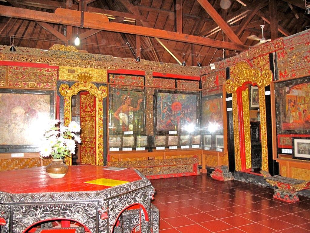 Museum Lukisan Bali Wisata Le Mayeur Puri Kab Gianyar