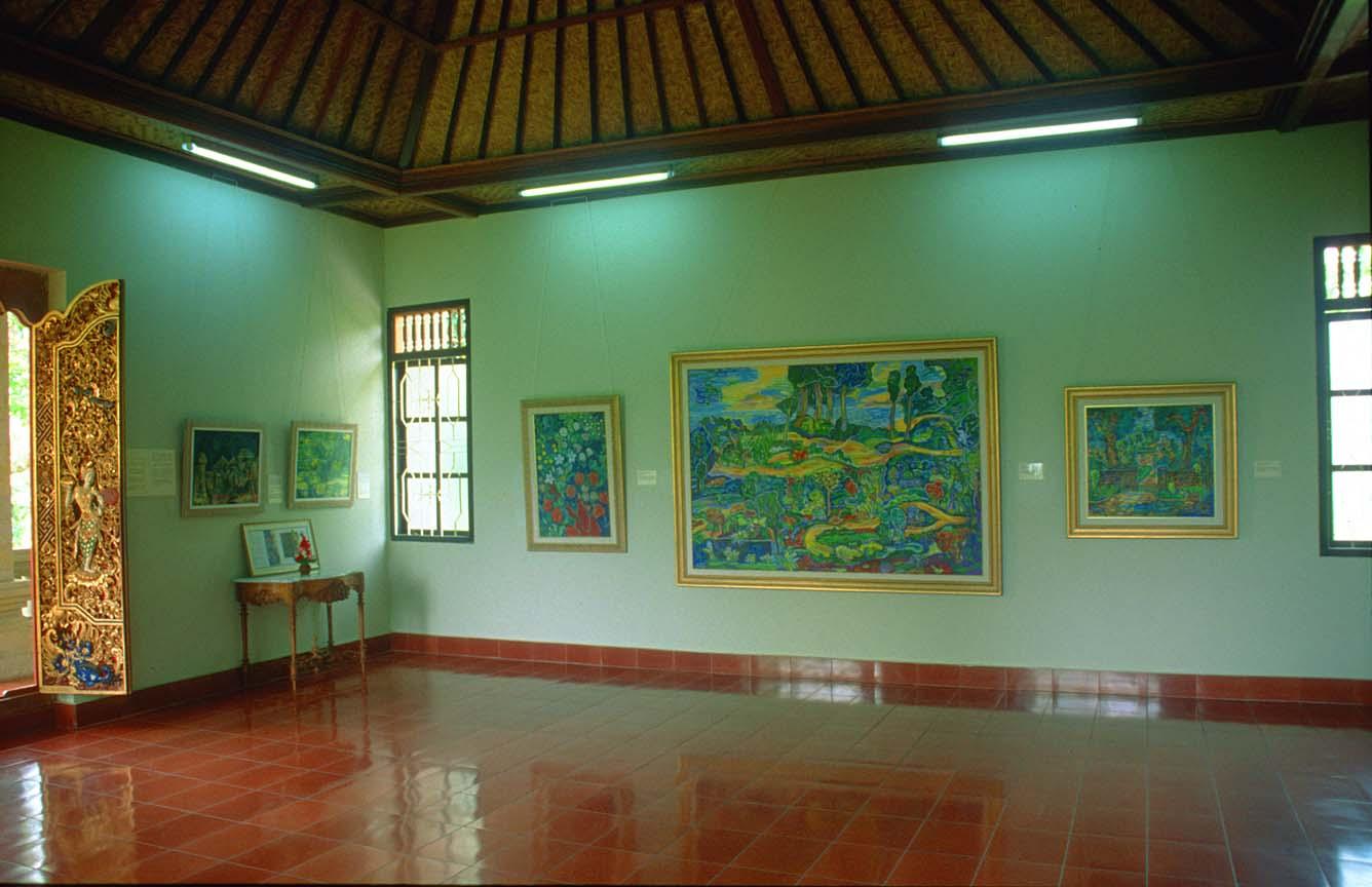 Museum Lukisan Bali Wisata Neka Art Puri Kab Gianyar