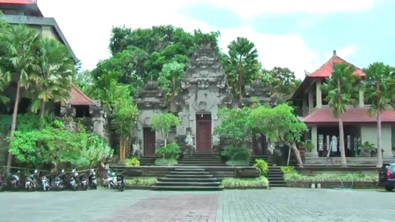 Museum Puri Lukisan Ubud Oldest Art Bali Indonesia Youtube Kab