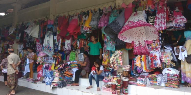 Belanja Oleh Murah Bali Tempatnya Kompas Pasar Seni Guwang Kecamatan