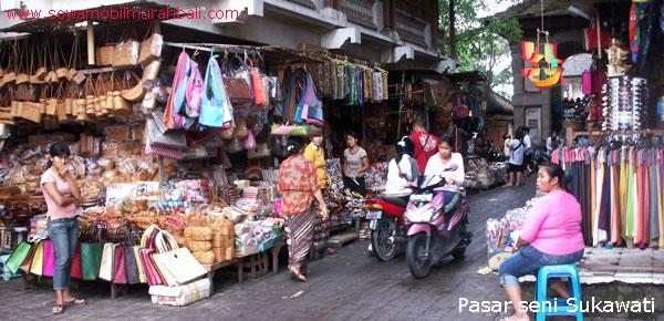 Day Ubud Pasar Seni Sukawati Tour Berwisata Ekonomis Bali Kab