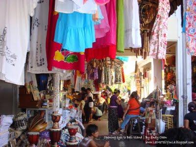 Pariwisata Bali Pasar Seni Sukawati Kab Gianyar